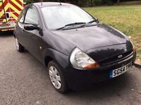 2004 FORD KA . LOW MILEAGE. BRILLIANT DRIVE. RECENTLY SERVICED.NEW MOT. NO VAT.