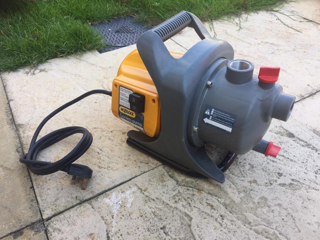 garden hose pump. Hozelock Garden Hose Water Pump Kit - Model 7816