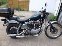 harley davidson sportster 1978 MOTd running project bobber chopper spares repair barn find