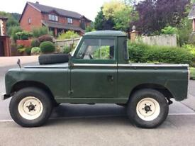 """Land Rover Series 2a 1970 Pick Up 88"""" Classic Car Tax Diesel *REDUCED*"""