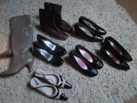 VARIOUS LADIES SHOES/BOOTS - SIZES 5 1/2 UPWARDS TO SIZE 7 - VGC - FROM £2.00 PER PAIR