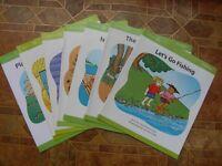7 children's reading books Level 3 green