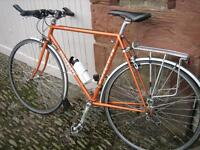 """Bicycle Gents Holdsworth 21.5"""" l`eroica. 531 Reynolds tubing, tripple chainset, good winter bike."""