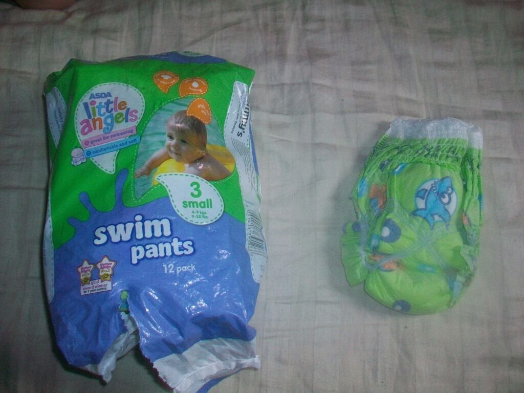 Little Angels Swimming Nappies X7 Size Small 4-9 kg / 9-20 Lbs