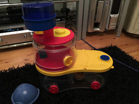 Rotastak multi colour hamster or small animal cage 3 tier with wheel super condition