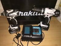 MAKITA Combi&Hammer Drills LXT 18v Lithium-ion with 3.0Ah Batteries