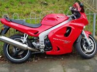 Triumph sprint st 955 I fuel injection