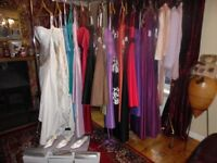 Job Lot wedding dresses, bridesmaid dresses, mother of bride outfits, shoes and clutches