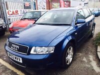 AUDI A4 ESTATE SE TDI 130 DIESEL AUTOMATIC AVANTE DRIVES NICE