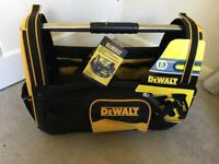 DeWALT Power Tool Open Tote *NEW* STILL AVAILABLE