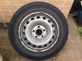 Renault Trafic spare wheel