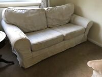 Free to collect sofa and 2 armchairs