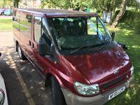 Ford, TRANSIT Tourneo, Minibus, New MOT, 9 Seater
