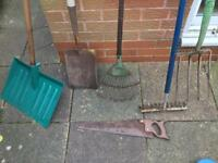 Collection of Gardening Tools