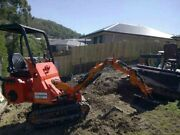 MINI LOADER MINI EXCAVATOR COMBO, DRY HIRE RENTAL,$150-00 A DAY, Arundel Gold Coast City Preview