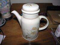 Royal Doulton Lambethware Sandsprite Coffee Pot Weymouth
