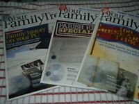Family History Magazines, Books and CD's