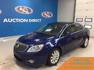 2013 Buick Verano LEATHER, SUNROOF! FINANCE NOW!