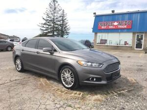 2013 Ford Fusion NAVIGATION - LEATHER - MOONROOF - 2.0L