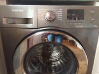 Samsung F500 EcoBubble WF70F5E2W4X 7kg 1400 Spin Washer Graphite Silver