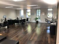 Desk space to rent in private modern office located in new building in South Croydon.
