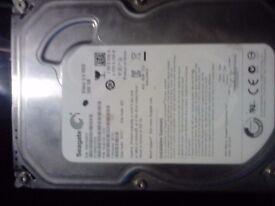 "500GB Seagate Video 3.5"" Hard Drive"