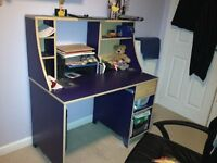 desk (with matching dawers also bed and shelf available)