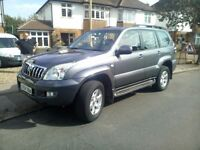 TOYOTA LANDCRUISER LC-4 D-4D AUTO 7 SEATER MET GREY 2004/04