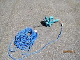Small 12 inch electric hedge trimmer