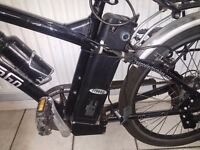 Electric bike good battery motor needs attention