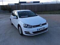 2014 VW GOLF 1.6 TDI BLUEMOTION ONLY 28000 MILEAGE 1 OWNER