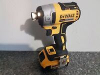 DeWALT DCF887 18V LI-ION XRP BRUSHLESS IMPACT DRIVER 3 Speed+ 1x4ah battery,,,,, makita