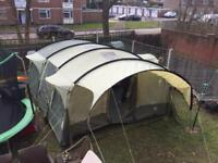Royal Bordeaux 6 man XL family tent (HUGE!)