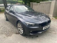 🔥 2012 BMW 320D 3 SERIES 2.0 D MANUAL GREY SALOON ** FULL SERVICE HISTORY * LOVELY CAR 🔥