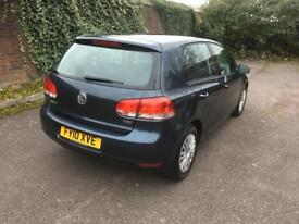 Volkswagen Golf 1.6 tdi-2010 model-blue-manual-cheap insurance-part exchange available 1 owner