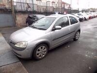 Vauxhall Corsa 1.4 Sri 3 door Part ex to clear