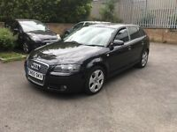 AUDI A3 2.0 TDI SPORT 140 DSG AUTO TIPTRONIC WITH PADDLE SHIFT