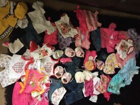 Build a bear clothes, shoes and accessories