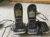 BT phones and answering machine