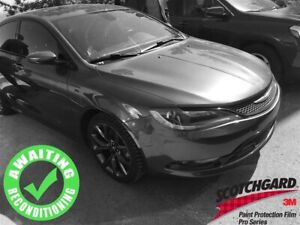 2015 Chrysler 200 S AWD V6| Sun| Nav| Heat Seat/Wheel| Rem Start