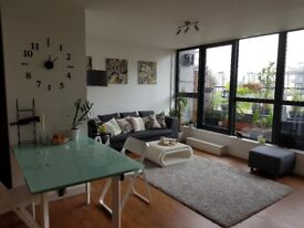 Furnished 2 bedroom City Centre Penthouse with large balcony