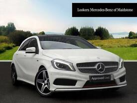 Mercedes-Benz A Class A250 BLUEEFFICIENCY ENGINEERED BY AMG (white) 2014-03-13