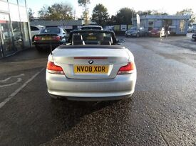 CONVERTIBLE!2008 08 BMW 1 SERIES 2.0 118I SE 2D 141 BHP **** GUARANTEED FINANCE **** PART EX WELCOME