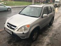 HONDA CRV (CR-V) I-VTEC SPORT - 2002 FACELIFT - BARGAIN CHEAP 4x4