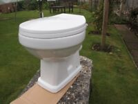 NEW VICTORIAN STYLE TOILET AND SOFT CLOSE SEAT