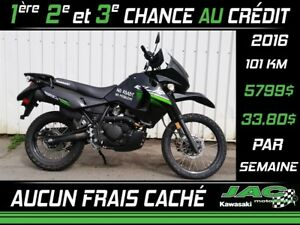 2016 Kawasaki KLR650 Défiez nos prix