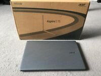 Laptop Acer Aspire E15 as brand new great spec