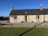 Semi Detached Cottage with 2 bedrooms just outside Tain