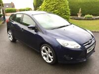FORD FOCUS 1.6 TDCI DIESEL, 2013, ONLY 58,000 MILES, NEW ALLOYS **FINANCE FROM £37 PER WEEK**