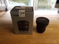 Canon 8-15mm f4/L fisheye zoom lens
